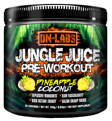 Jungle Juice - Unbelievably Potent Pre-Workout For Strength, Pump, and Gym Gains