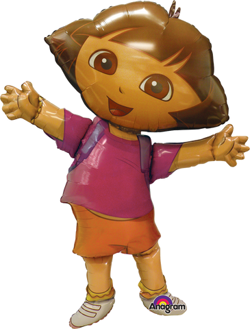 Dora The Explorer AWK Globo Metálico