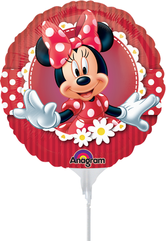Mad About Minnie 9 Pulgadas Globo Metálico