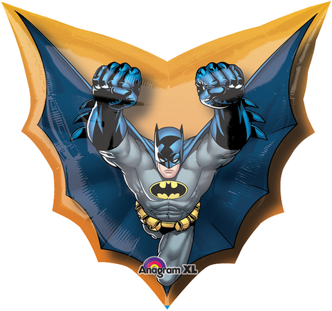 Batman Cape SuperSh Globo Metálico