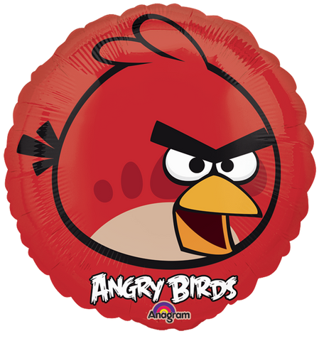 Angry Birds - Red Bird 9 Pulgadas Globo Metálico
