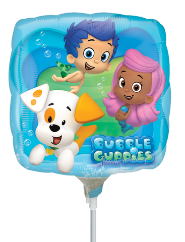 Bubble Guppies 9 Pulgadas Globo Metálico