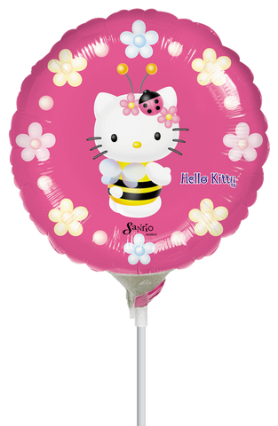 Hello Kitty Bee 9 Globo Metálico