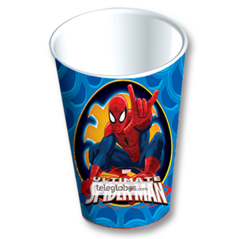 6 Vasos Desechables Fiesta de Spider Ultimate