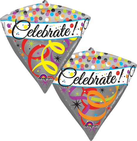 Celebrate Diamond UltraSh Diamondz Globo Metálico
