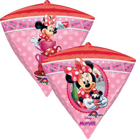 Minnie Mouse UltraSh Diamondz Globo Metálico