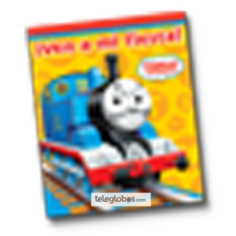 6 Invitaciones de Thomas And Friends