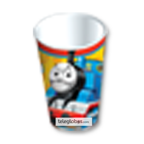 6 Vasos Desechables Fiesta de Thomas And Friends