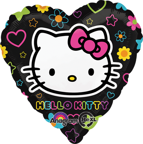 Hello Kitty Tween Heart 18 Pulgadas Globo Metálico