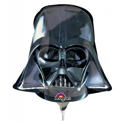 Star Wars Darth Vader Casco Mini Shape Globo