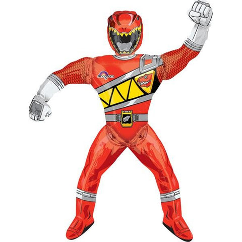 Power Rangers Dino Charge Airwalker Pulg Globo Metálico