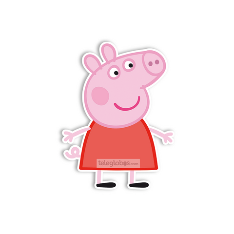 Adorno Movil Grande de Peppa Pig