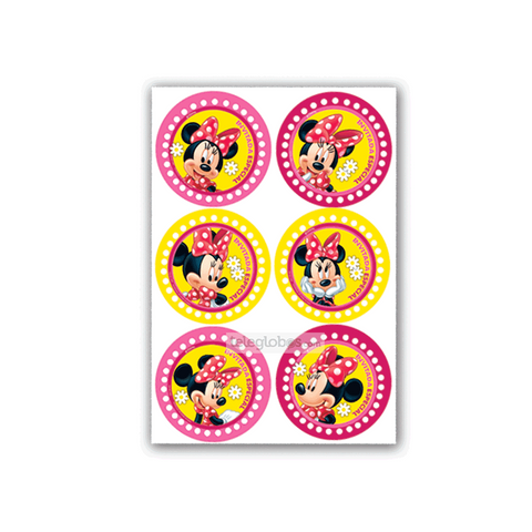 24 Distintivos de Minnie Mouse
