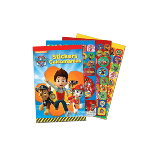 Blocks Stickers de Paw Patrol