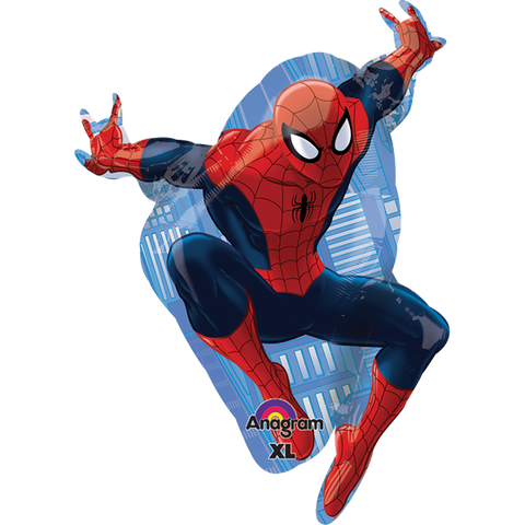 Ultimate Spiderman SuperSh Globo Metálico
