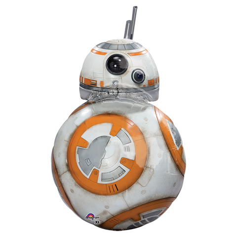 Star Wars Tfa BB8 SuperSh Globo Metálico