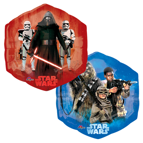 Star Wars Tfa SuperSh Globo Metálico