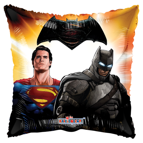 Batman V Superman Close 9 Pulgadas Globo Metálico