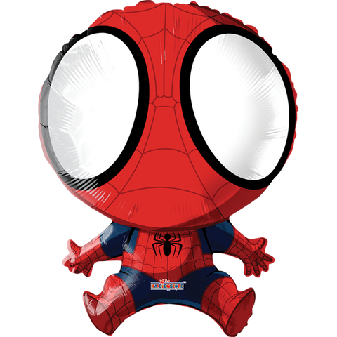 Ultimate Spider-Man SuperSh Globo Metálico