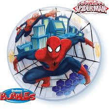 "Globo Burbuja Sencilla de 22"" Spiderman Qualatex"