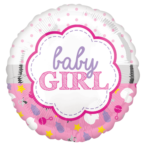 "Baby Girl Scallop 9"" GM"