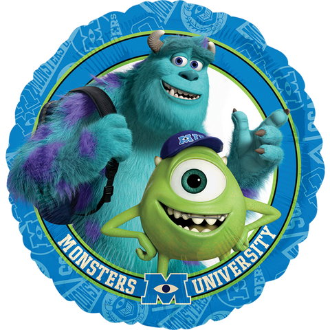 "Monsters University Group 18"" Globo Metálico"