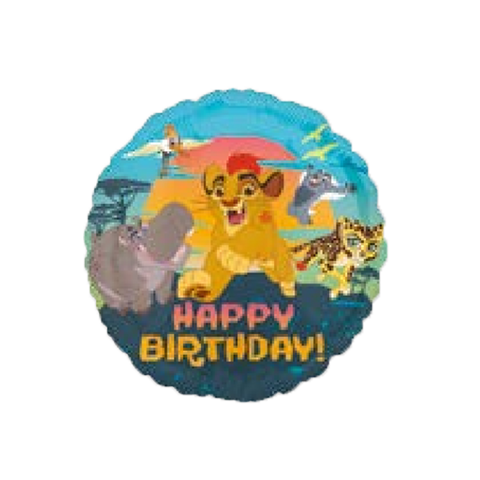 "Lion Guard Happy Birthday 18"" Globo Metálico"