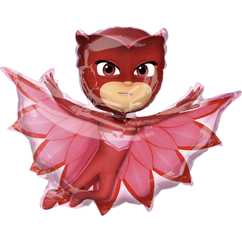 Pj Masks Owlette SuperSh Globo Metálico
