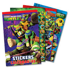 Blocks Stickers de Tortugas Ninja