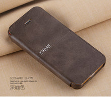 X-Level Leather Flip Cover Case - iPhone 5S/SE