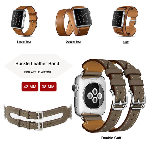 Fashion Leather Band Strap - Apple Watch Series 1/2/3
