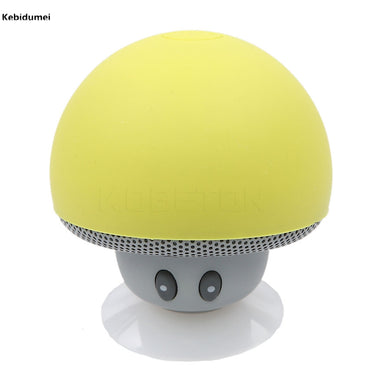 Mushroom Mini Wireless Bluetooth Speaker + Sucker Cup