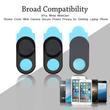 3PCs - Metal WebCam Shutter Cover