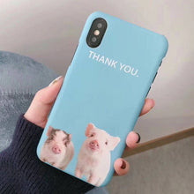 Cute Pigs Hard Case - iPhone