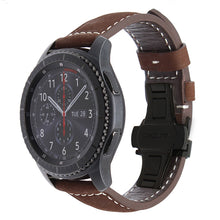 Genuine Leather Watchband - Samsung Gear S3 Classic/Frontier