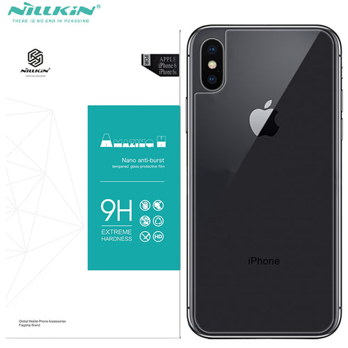 Nillkin Tempered Glass Back cover - iPhone X