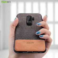 MOFI Fabric/Leather Case - Samsung Galaxy S9/S9+