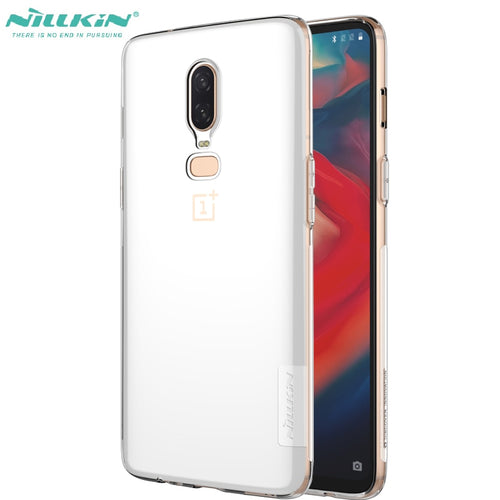Nillkin Anti-Skid Silicon Case - OnePlus 6