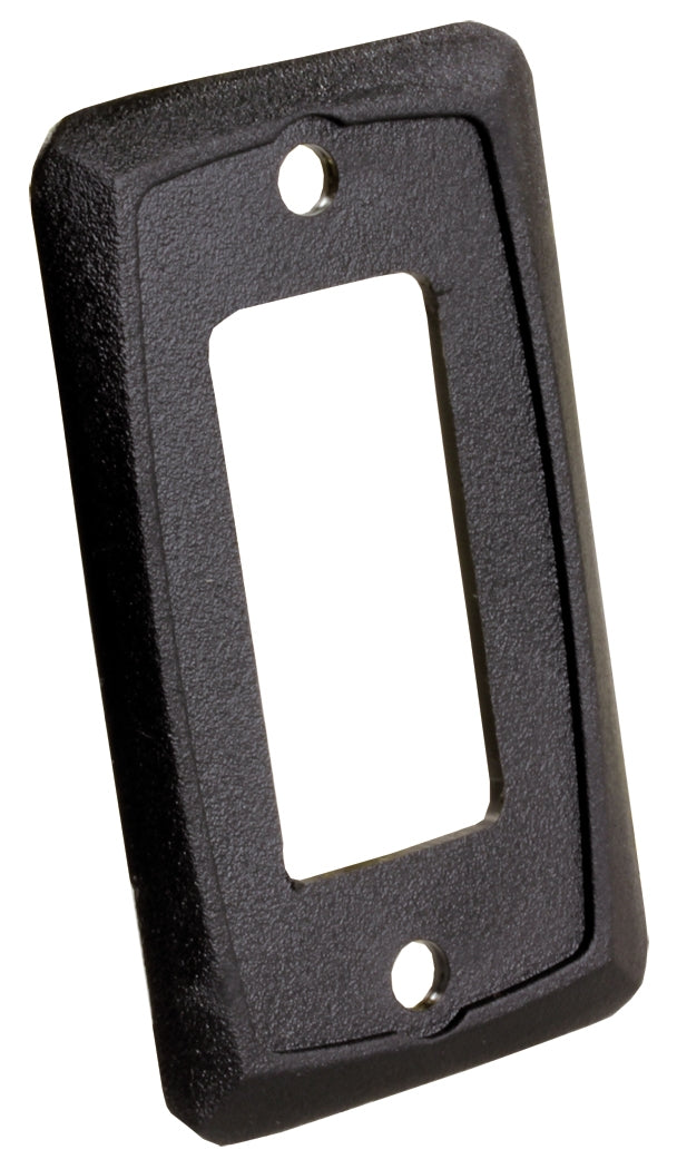 Furniture Switch Face Plate Black 3613935 *