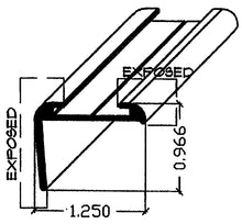 ROOF EDGE LONG LEG SQUARE LIP - 4964718