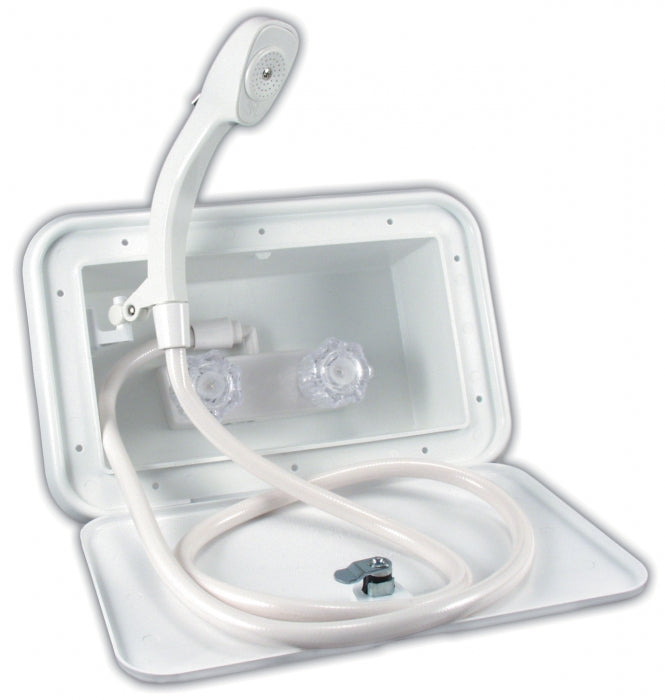 EXTERIOR SHOWER - POLAR WHITE - 3615102