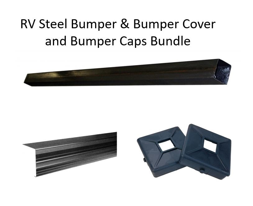RV Bumper, Bumper Cover & Caps Bundle 4429244,  3269696 & 4494160