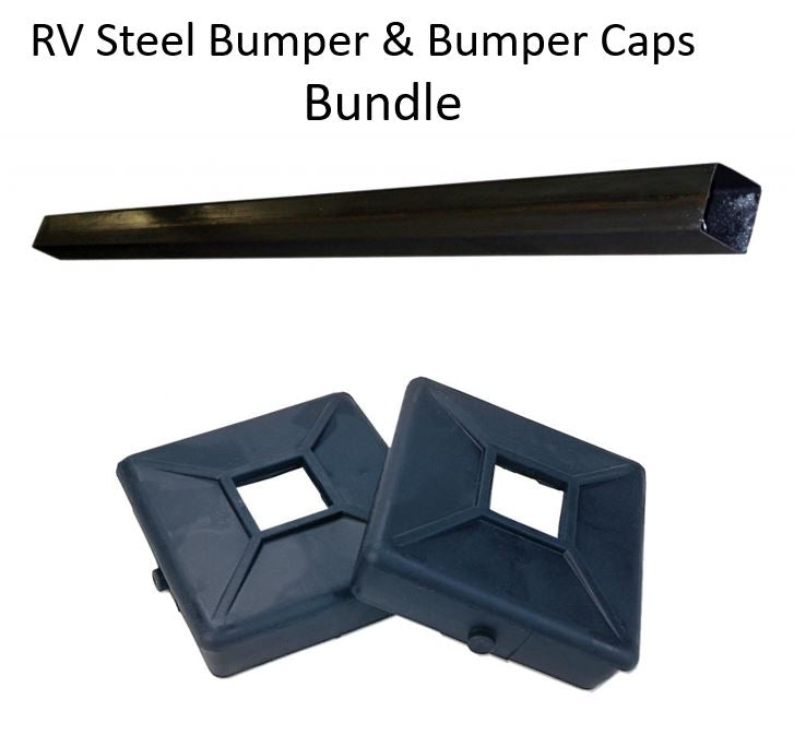 RV REAR SEWER BUMPER - BUMPER CAPS Bundle 4429244 & 4440208
