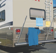 RV BUMPER MOUNT PORTABLE CLOTHES LINE 5301000