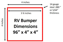 replacement rv sewer bumper dimensions