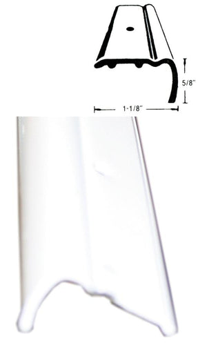 RV Trailer STANDARD ROOF EDGE -  16 Foot Aluminum WHITE  4937065