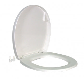 SEAT AND COVER FOR RESIDENCE TOILET - WHITE - 1642178