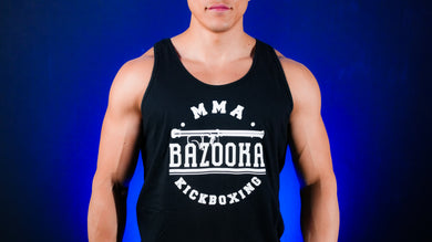 Black Bazooka Tank Top