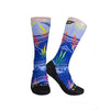 Blue Tropical Dreams Socks
