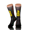 Brand New Nubian Yellow Fingers Socks